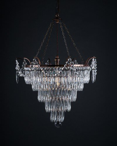 Marcle Crystal Chandelier (3 And 4 Tier), Vintage Lighting