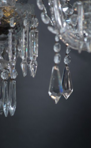 Crystal Droplets Close up