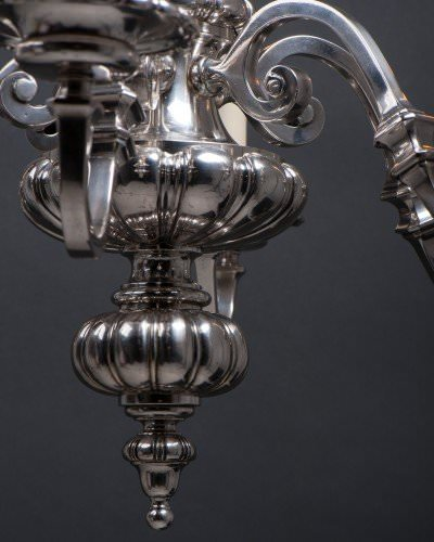 Antique chandelier close up