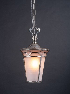 Superb quality Osler Lantern with beautiful Satin opaque glass