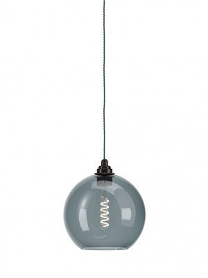 Smoked Hereford Globe Pendant Light