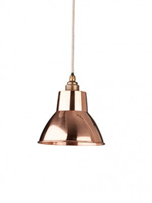 The Copper Moccas Industrial Pendant Light