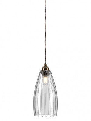 Ribbed Upton Bathroom pendant light