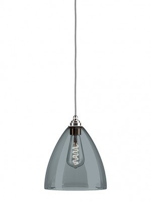 Smoked glass Ledbury pendant Light