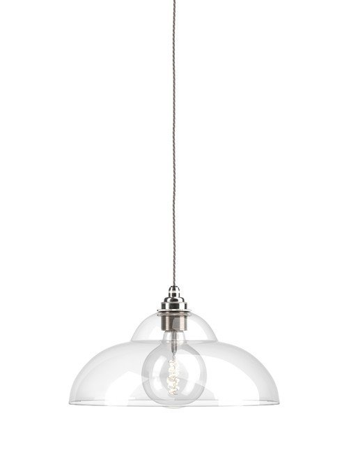 Clear Glass Pendant Ceiling Light Railroad Wye Valley Industrial Modern Designer Contemporary Retro Style