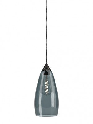 Smokey Glass Upton Pendant Light