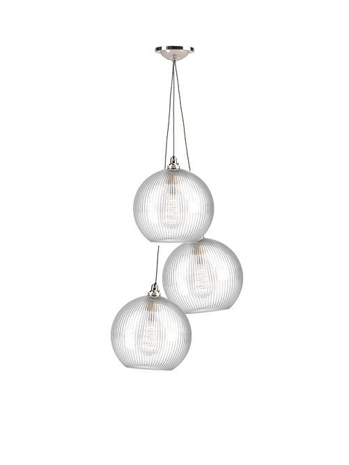 online store 5381b 7d86f Customisable Glass Globe Cluster Ceiling Light - Hereford (industrial  modern contemporary retro style)