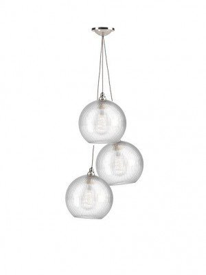 Hereford Pendant Chandelier - 3 light, staggered