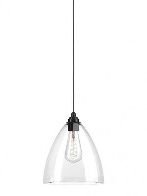 Ledbury Clear Glass Pendant Light