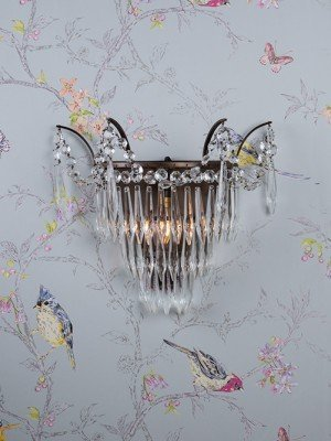 Marcle Crystal Wall Light