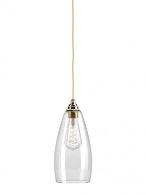 Upton Clear Glass Pendant Light