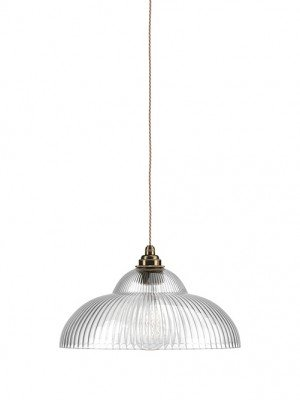 Skinny Ribbed Wye Valley Pendant Light