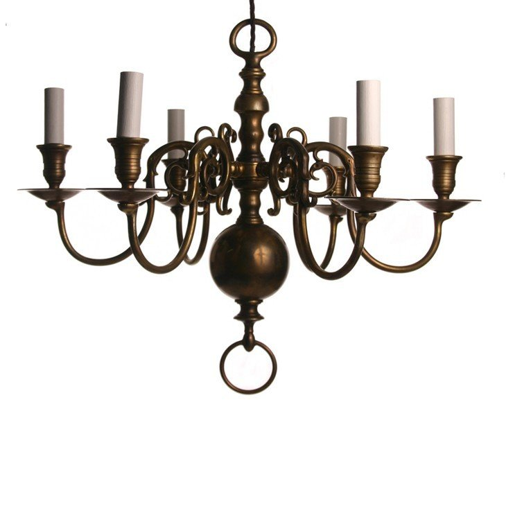 LIGHTING THROUGH THE AGES:Dutch Style Chandelier,Lighting