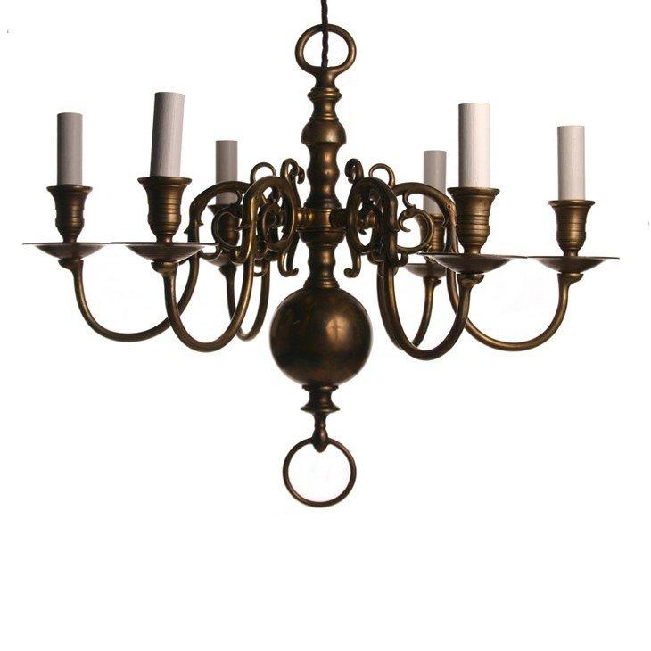 Brass Chandeliers Uk: Dutch Style Chandelier,Lighting