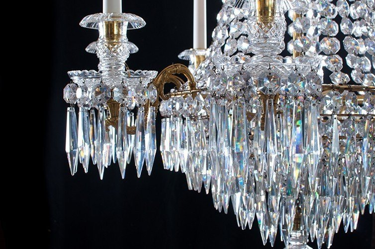 Antique lighting top tips on buying antique chandeliers antique lighting crystal chandelier buying tips aloadofball Images