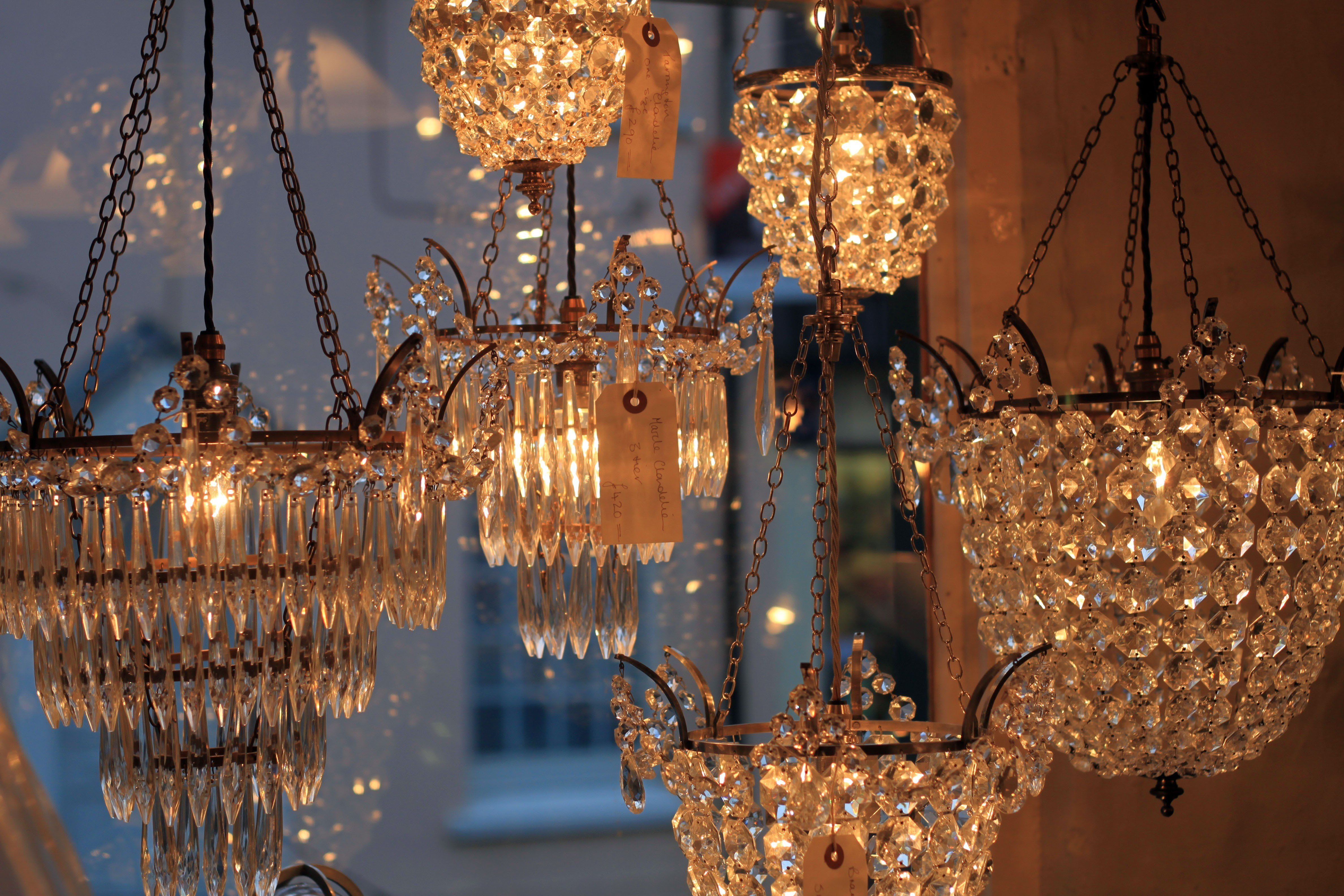The making of our crystal chandeliers the tarrington seen below is a crystal bag chandelier and the smallest of the collection the pretty frame is taken from a casting an original fc osler aloadofball Gallery
