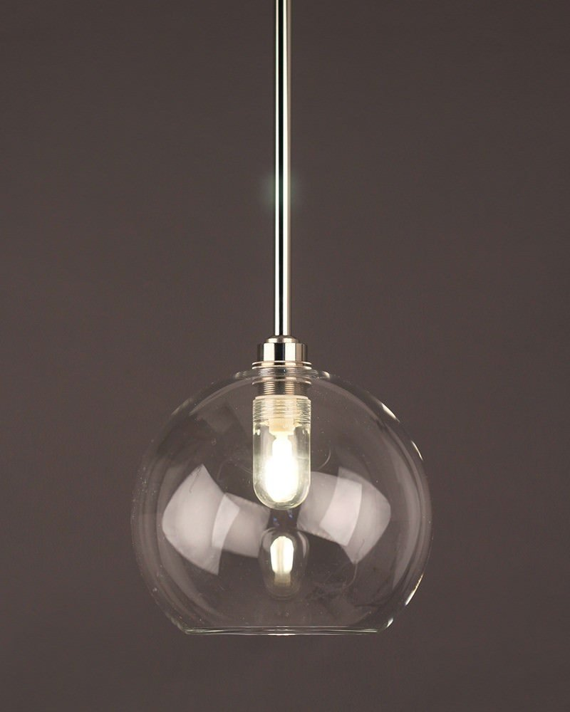 vintage lighting pendants. Hereford_Clear_Glass_Globe_Bathroom_Ceil Vintage Lighting Pendants