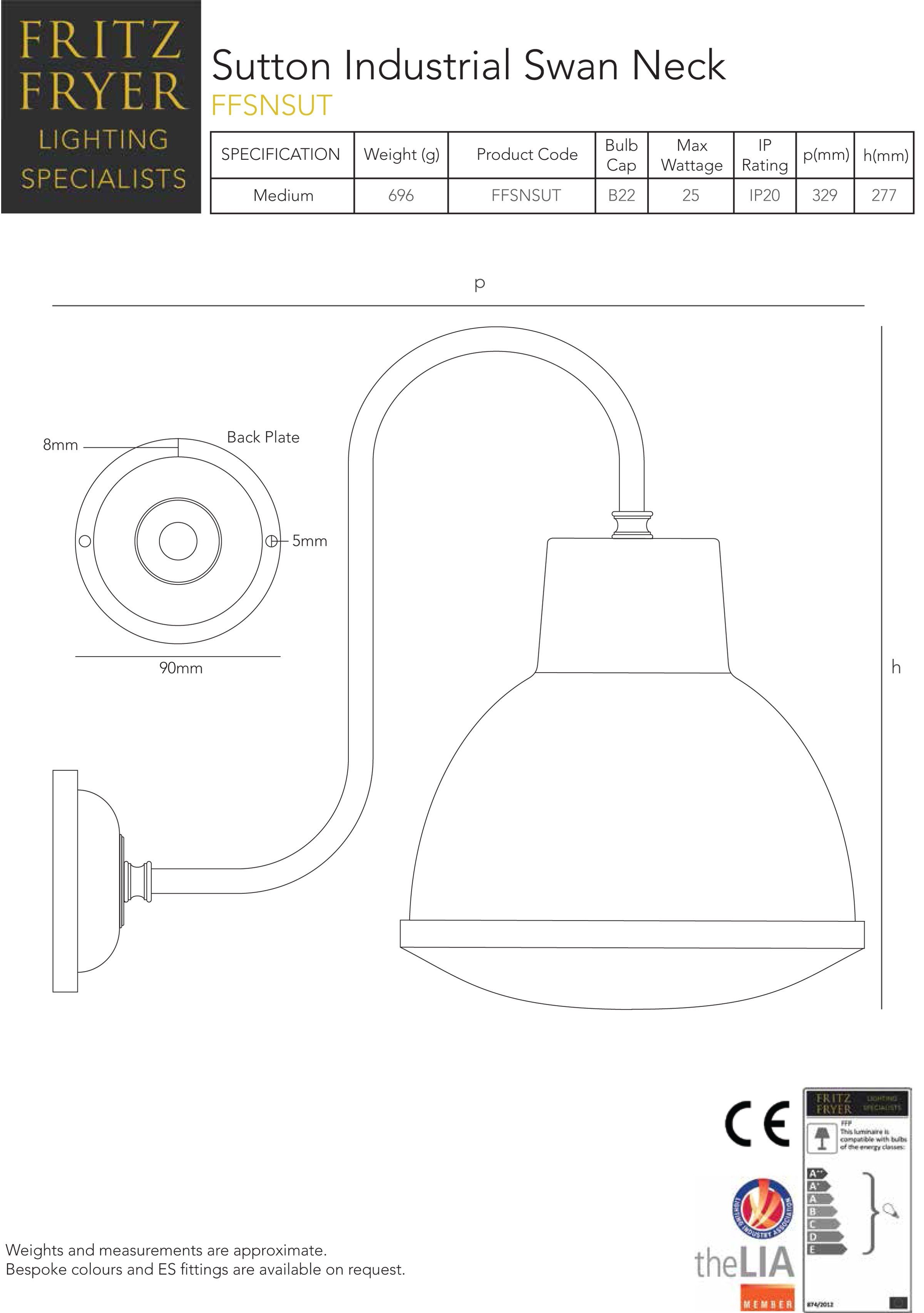 designer-lighting-sutton-industrial-swan-neck-technical-data-sheet-fritz-fryer